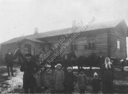 Mäkelän talo 1916