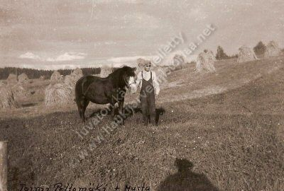 Toimi Peltomäki ja Musta-hevonen