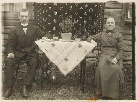 Emma ja Samuli Metsäraukola 1913