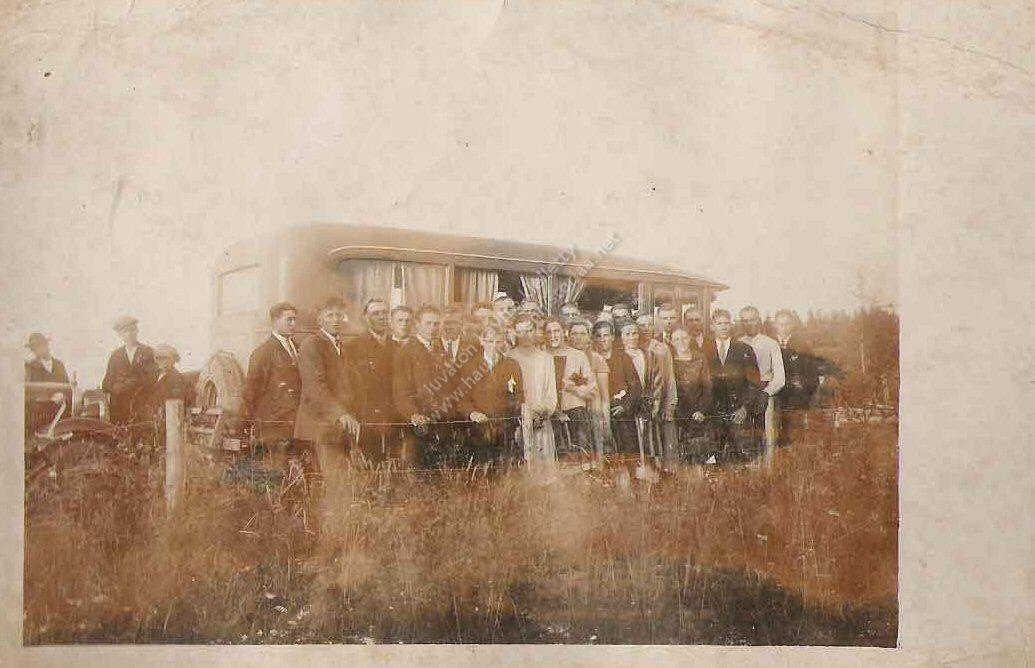 linja-auto 1930-luvulta